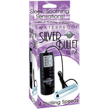 Pipedream Vibro Bullet Тонкое виброяйцо pipedream dillio fancy fit harness черные трусики крепление с фиолетовыми застежками