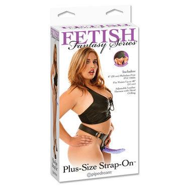 Pipedream Plus Size Трусики с фаллосом sqweel go pink карманный клиторальный стимулятор