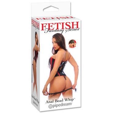 Pipedream Anal Bead Whip Плетка с рукоятью в форме анальной цепочки pipedream fetish fantasy the pegger страпон для анальной стимуляции