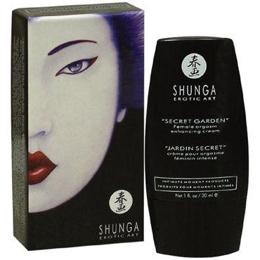 Shunga Secret Garden, 30 мл Стимулирующий крем для женщин набор shunga geisha s secret органика экзотический зеленый чай 5 предметов
