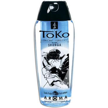 Shunga Toko Aroma, 165 мл Лубрикант с нежным вкусом, экзотические фрукты shunga massage 200 мл ароматическая свеча экзотические фрукты