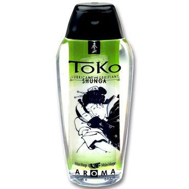 Shunga Toko Aroma, 165 мл Лубрикант с нежным вкусом, дыня и манго лубрикант shunga toko cherry 165 мл