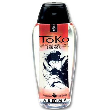 Shunga Toko Aroma, 165 мл Лубрикант с нежным вкусом, мандарин лубрикант shunga toko aqva 165 мл