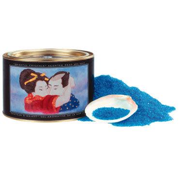 Shunga Oriental Crystals, 600 г. Соль для ванны, океанский бриз вибромассажеры материал живая кожа киберкожа киберскин