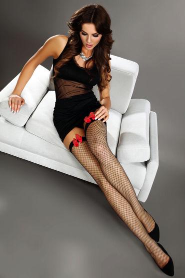 Livia Corsetti Magico Чулки в сетку а кэтсьюты и чулки на тело цвет красный