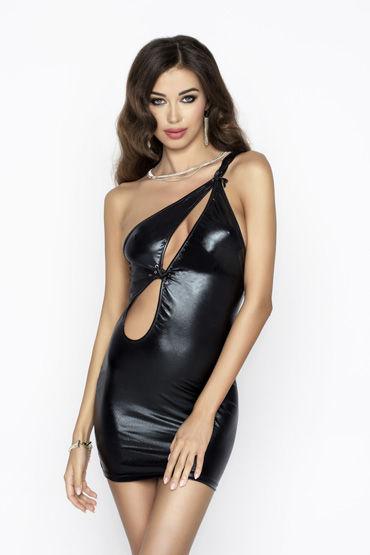 Passion Cornelia, черное Платье с вырезами passion cornelia черное платье с вырезами