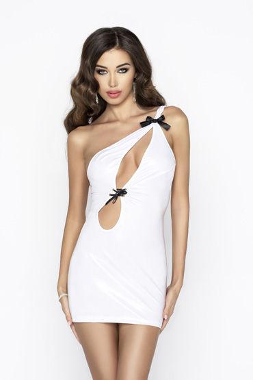 Passion Cornelia, белое Платье с вырезами passion cornelia черное платье с вырезами