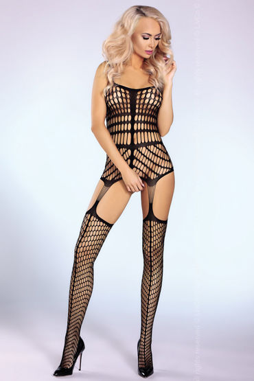 Livia Corsetti Morena Боди-комбинезон в крупную сетку цены онлайн