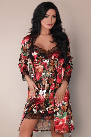 Livia Corsetti Mariee, разноцветный Пеньюар, сорочка и трусики гель лубрикант wet original 107 мл 3 6 oz