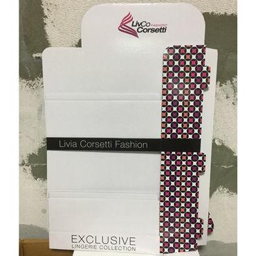 Промо Картонный стенд LivCo Corsetti (маленький) livco corsetti roanna черная сорочка с кружевом и трусики