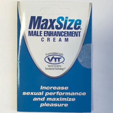 Тестер Swiss Navy MaxSize Возбуждающий крем для усиления эрекции podium стек 85 см наконечник кисточка 10 см