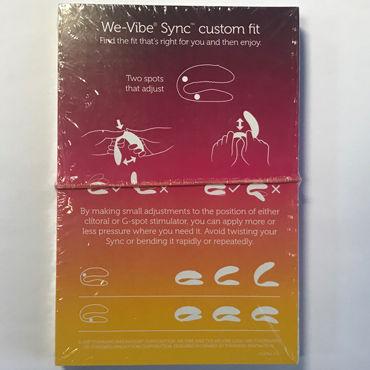 Промо Листовка We-Vibe Sync custom fit (20 шт) vibe therapy terah фиолетово белые