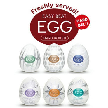 Набор Tenga Eggs Hard Boiled
